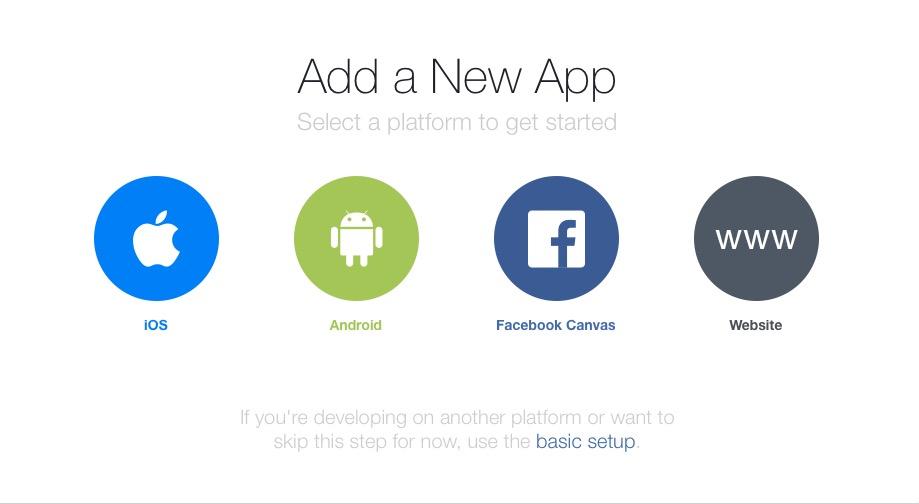FBIA Add new App