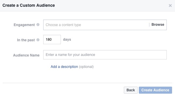 Facebook ads engagement on facebook video