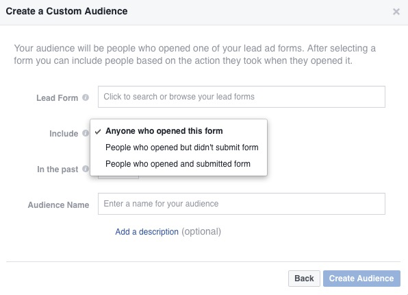 Facebook ads engagement on facebook lead generation