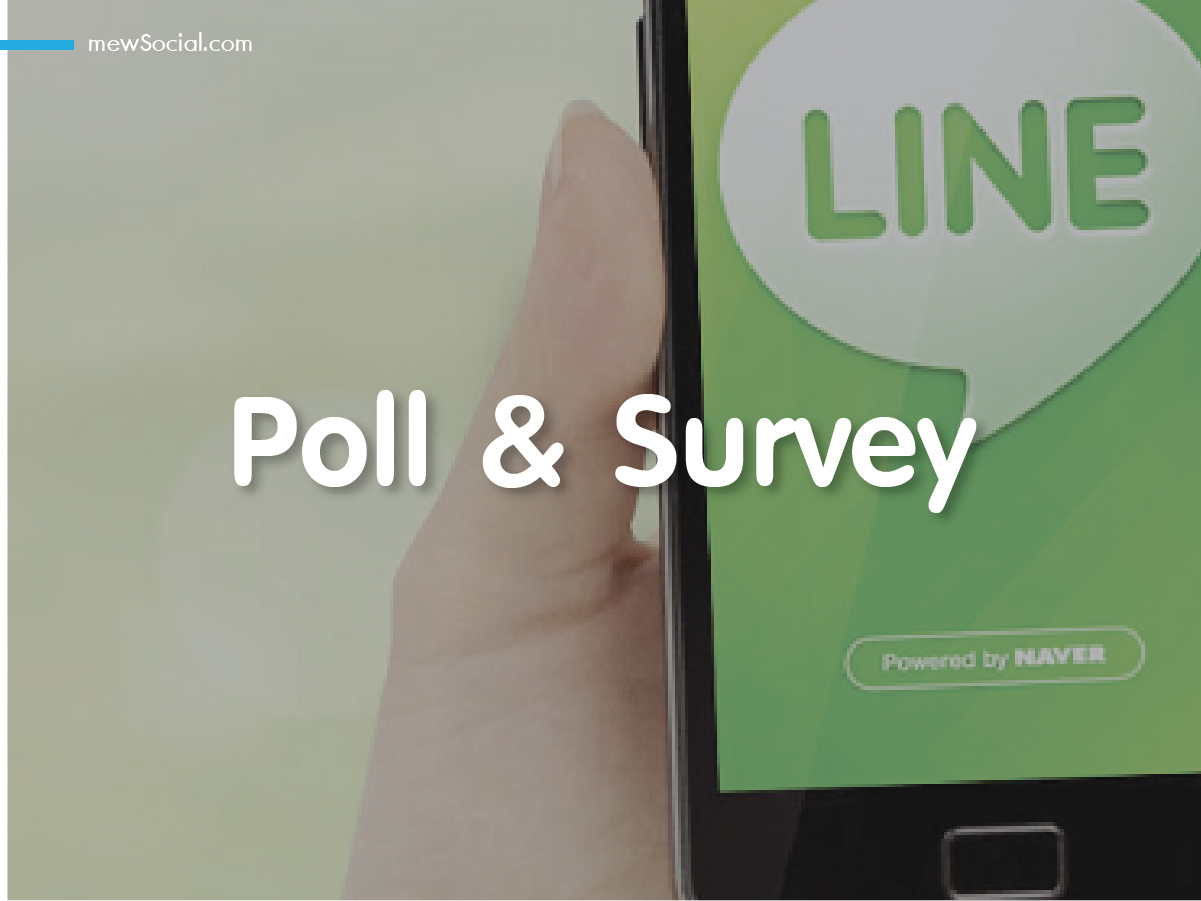 Line at Poll & Survey