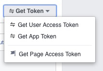 facebook access token for facebook live reaction