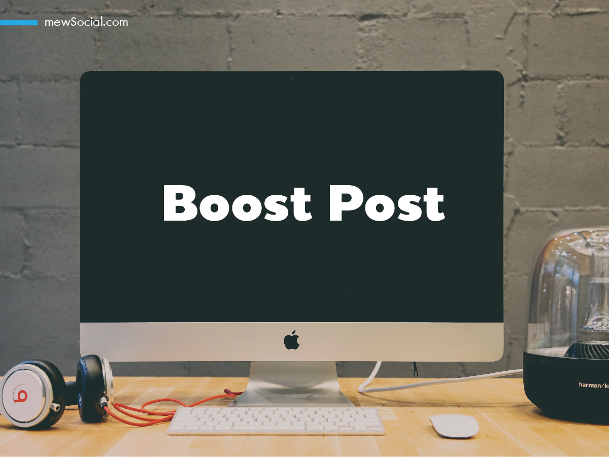 facebook Boost post